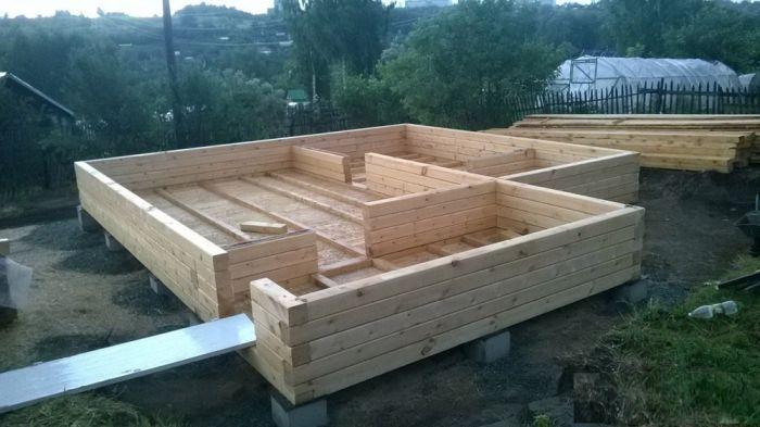 Пошаговая инструкция строительства дома из бруса своими руками